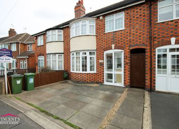 Thumbnail 3 bed town house for sale in Ravenhurst Road, Leicester