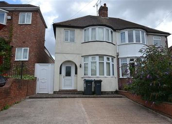 Thumbnail 3 bed semi-detached house to rent in Lavendon Road, Great Barr, Birmingham