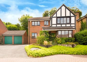 Thumbnail 4 bed detached house for sale in The Brambles, Royston