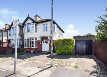 Thumbnail 3 bed semi-detached house for sale in Somerset Avenue, London