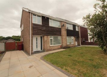 Thumbnail 3 bed semi-detached house for sale in Weaver Avenue, Simonswood, Liverpool