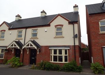 Thumbnail 3 bed semi-detached house to rent in Bakehouse Close, Hugglescote, Coalville