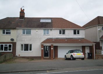 Thumbnail 4 bed semi-detached house for sale in Queensway, Stourbridge
