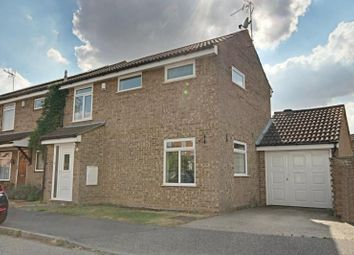 Thumbnail 3 bed semi-detached house to rent in Longcroft, Takeley, Essex