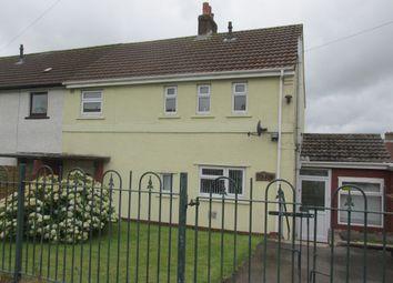 Thumbnail 3 bed semi-detached house for sale in Heol Uchaf, Rhymney, Tredegar