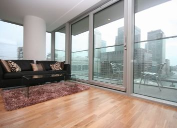 Thumbnail 2 bed flat to rent in Marsh Wall, Heron Quay - E14,