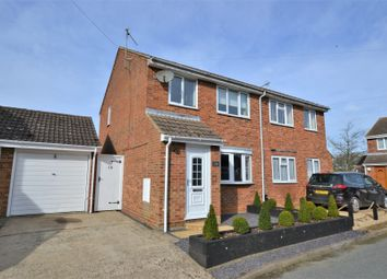 Thumbnail 3 bed semi-detached house for sale in Cameron Close, Heacham, King's Lynn