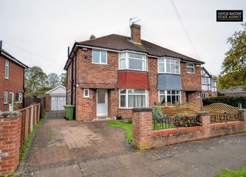 Thumbnail 3 bedroom semi-detached house for sale in Allestree Drive, Scartho, North East Lincolnshire