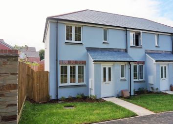 Thumbnail 3 bedroom end terrace house to rent in Pendragon Close, Liskeard