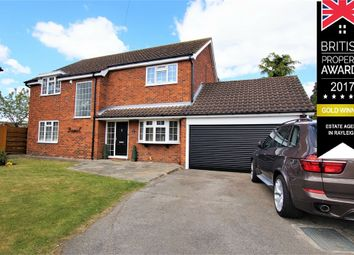 Thumbnail 4 bed detached house for sale in Wootton Close, Ardleigh Green, Hornchurch, Essex, UK
