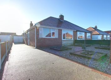 Thumbnail 2 bed semi-detached bungalow for sale in Newcastle Avenue, Thornton-Cleveleys