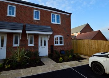 Thumbnail 3 bedroom semi-detached house to rent in Pewit Close, Bowbrook Meadows, Shrewsbury