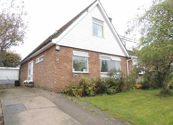 Thumbnail 3 bed semi-detached house for sale in Churchill Crescent, Marple, Stockport