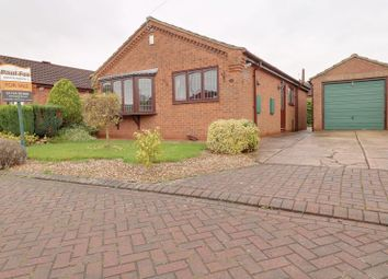Thumbnail 2 bed detached bungalow for sale in Witham Drive, Burton-Upon-Stather, Scunthorpe