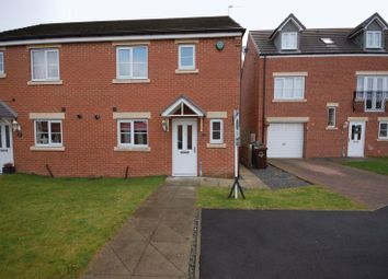 Thumbnail 3 bedroom semi-detached house for sale in Mead Court, Forest Hall, Newcastle Upon Tyne