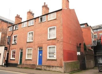 Thumbnail 3 bed town house to rent in Lincoln Street, Nottingham