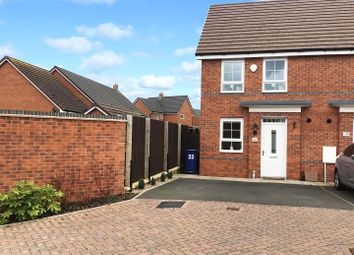 Thumbnail 2 bed semi-detached house for sale in Freeman Drive, Hednesford