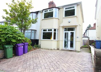 Thumbnail 3 bedroom semi-detached house for sale in Broad Green Road, Old Swan, Liverpool