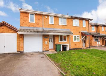 Thumbnail 3 bed semi-detached house to rent in Turville Close, Wigston, Leicestershire