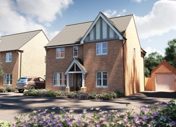 """Thumbnail 4 bed detached house for sale in """"The Berrington"""" at Pershore Road, Evesham"""
