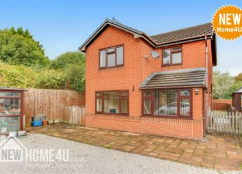Thumbnail 3 bed detached house for sale in Corwen Road, Pontybodkin, Mold