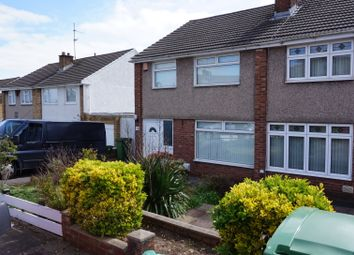 Thumbnail 3 bed semi-detached house to rent in Oakwood Avenue, Cardiff