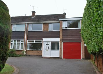 Thumbnail 5 bed semi-detached house for sale in Shottery Close, Mount Nod, Coventry