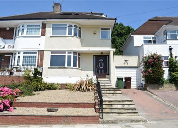 Thumbnail 3 bed semi-detached house for sale in Vernon Drive, Stanmore, Greater London