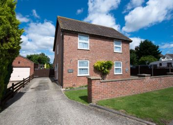 Thumbnail 4 bed detached house for sale in Station Road, Firsby, Spilsby