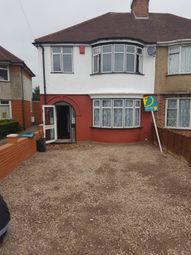 Thumbnail 3 bed semi-detached house to rent in Durham Avenue, Heston