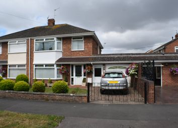 Thumbnail 3 bed semi-detached house for sale in Sedgemoor Road, Bridgwater