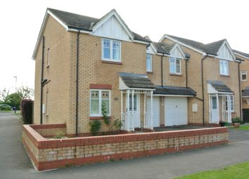 Thumbnail 3 bed semi-detached house to rent in Peirse Close, Bedale