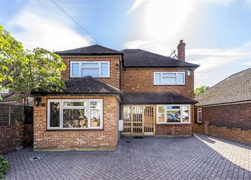 Thumbnail 4 bed detached house for sale in The Haven, Vicarage Road, Sunbury-On-Thames