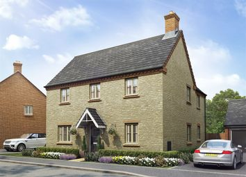 "Thumbnail 4 bedroom detached house for sale in ""The Ludlow"" at Towcester Road, Old Stratford, Milton Keynes"