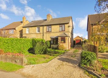 Thumbnail 3 bed semi-detached house for sale in High Street, Tadlow, Royston