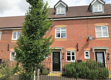 Thumbnail 3 bed terraced house for sale in Jeque Place, Stretton, Burton-On-Trent
