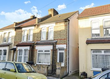Thumbnail 3 bedroom end terrace house for sale in Boulogne Road, Croydon