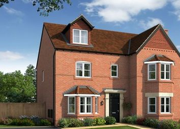 Thumbnail 5 bed detached house for sale in The Stratford A, Bruche Avenue, Warrington, Cheshire