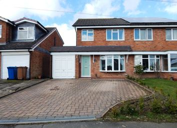 Thumbnail 3 bed semi-detached house for sale in Kingsdown Road, Burntwood