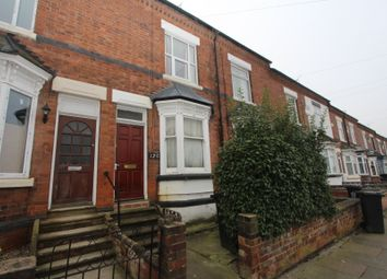 Thumbnail 2 bed terraced house to rent in Knighton Fields Road, Leicester