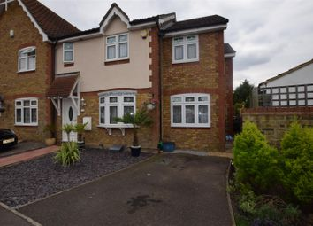 Thumbnail 4 bed semi-detached house for sale in Heathfield Park Drive, Chadwell Heath, Romford