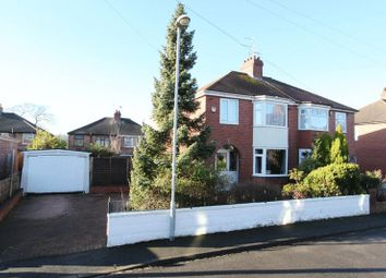 Thumbnail 3 bed semi-detached house for sale in Mayfield Place East, Trent Vale, Stoke-On-Trent