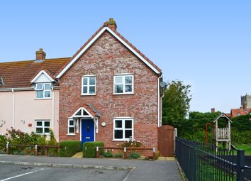 Thumbnail 2 bed end terrace house for sale in St Johns Meadow, Metfield, Harleston