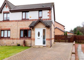 Thumbnail 3 bed semi-detached house for sale in Auchenbothie Crescent, Robroyston, Glasgow