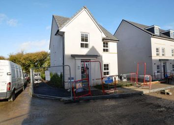 Thumbnail 4 bed detached house for sale in Hillhead Road, Kergilliack, Falmouth