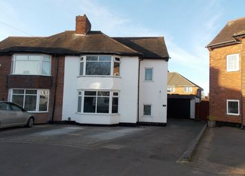 Thumbnail 3 bed semi-detached house to rent in Blakemere Avenue, Yardley, Birmingham