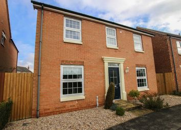 Thumbnail 4 bed detached house for sale in Plover Walk, Market Rasen