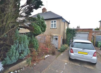 Thumbnail 3 bed semi-detached house for sale in Coombe Road, Bushey