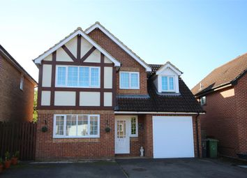 Thumbnail 4 bed detached house for sale in Lindford Chase, Lindford, Bordon