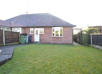 Thumbnail 1 bed semi-detached bungalow to rent in Thornton Avenue, Macclesfield, Cheshire